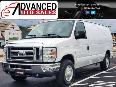2012 Ford E-Series Cargo for sale at Advanced Auto Sales in Dracut MA