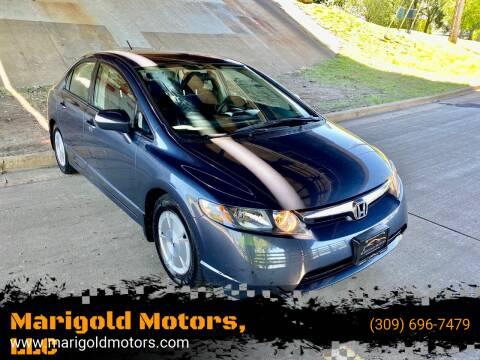 2008 Honda Civic for sale at Marigold Motors, LLC in Pekin IL