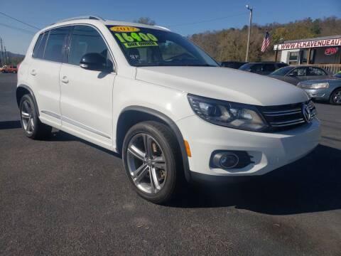2017 Volkswagen Tiguan for sale at Elk Avenue Auto Brokers in Elizabethton TN
