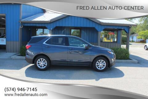 2018 Chevrolet Equinox for sale at Fred Allen Auto Center in Winamac IN