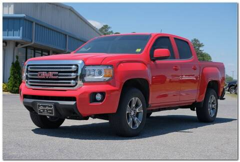 2017 GMC Canyon for sale at STRICKLAND AUTO GROUP INC in Ahoskie NC