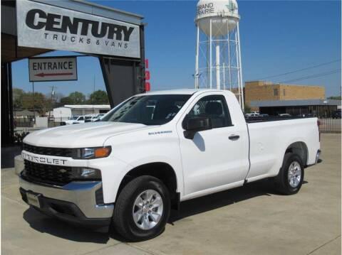 2020 Chevrolet Silverado 1500 for sale at CENTURY TRUCKS & VANS in Grand Prairie TX