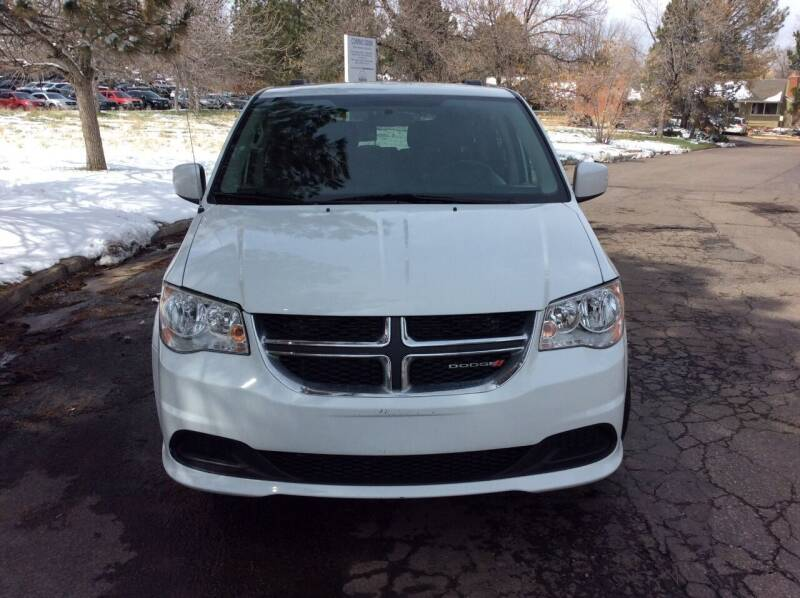 2014 Dodge Grand Caravan for sale at AROUND THE WORLD AUTO SALES in Denver CO