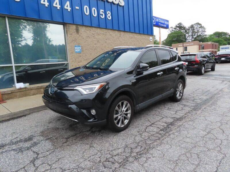 2016 Toyota RAV4 Hybrid for sale at Southern Auto Solutions - 1st Choice Autos in Marietta GA
