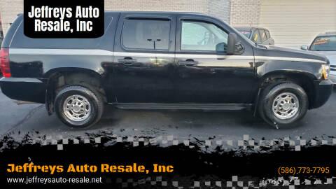 2013 Chevrolet Suburban for sale at Jeffreys Auto Resale, Inc in Clinton Township MI