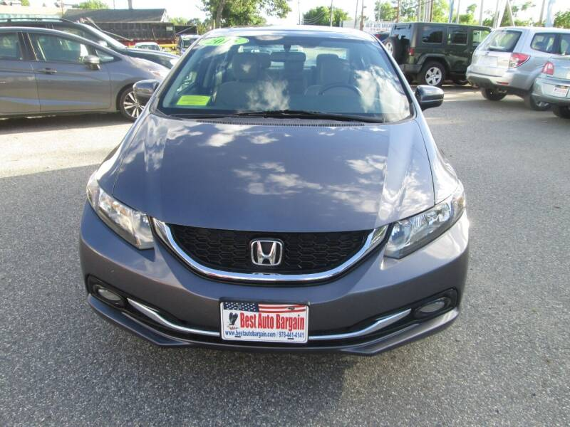 2015 Honda Civic EX-L 4dr Sedan - Lowell MA