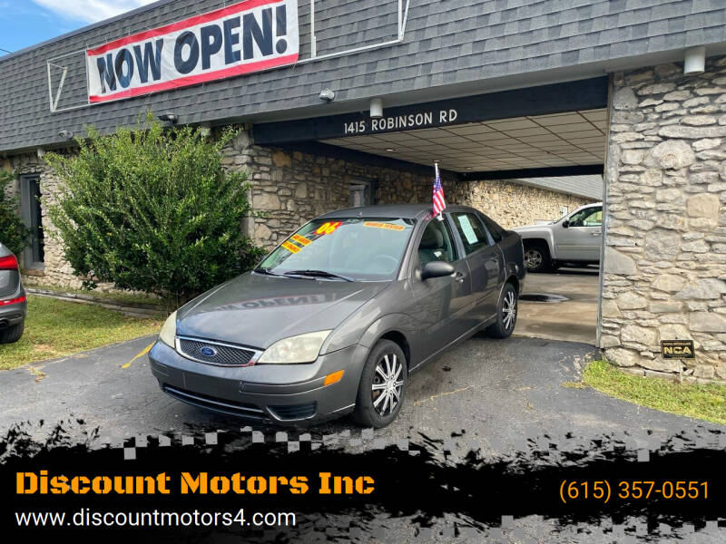 2006 Ford Focus for sale at Discount Motors Inc in Old Hickory TN