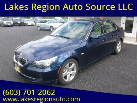 2008 BMW 5 Series for sale at Lakes Region Auto Source LLC in New Durham NH