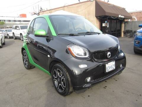 2017 Smart fortwo electric drive for sale at Win Motors Inc. in Los Angeles CA
