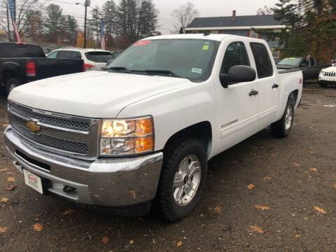 2013 Chevrolet Silverado 1500 for sale at Winner's Circle Auto Sales in Tilton NH