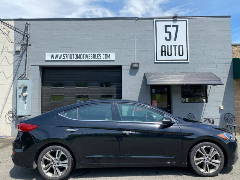 2017 Hyundai Elantra for sale at 57 AUTO in Feeding Hills MA