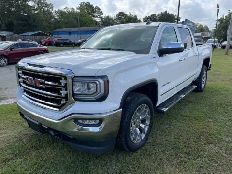 2018 GMC Sierra 1500 for sale at LAURINBURG AUTO SALES in Laurinburg NC