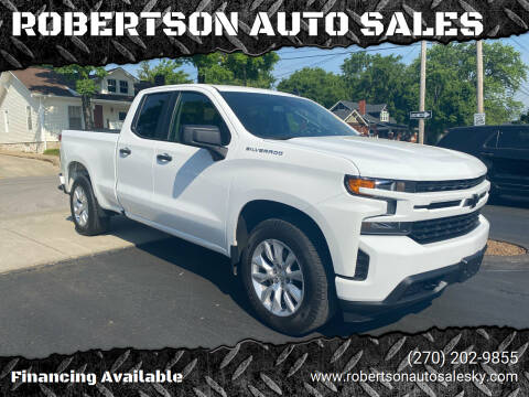 2019 Chevrolet Silverado 1500 for sale at ROBERTSON AUTO SALES in Bowling Green KY