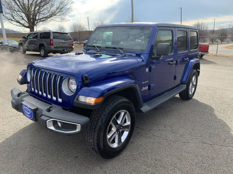 2020 Jeep Wrangler Unlimited for sale at Steve Johnson Auto World in West Jefferson NC