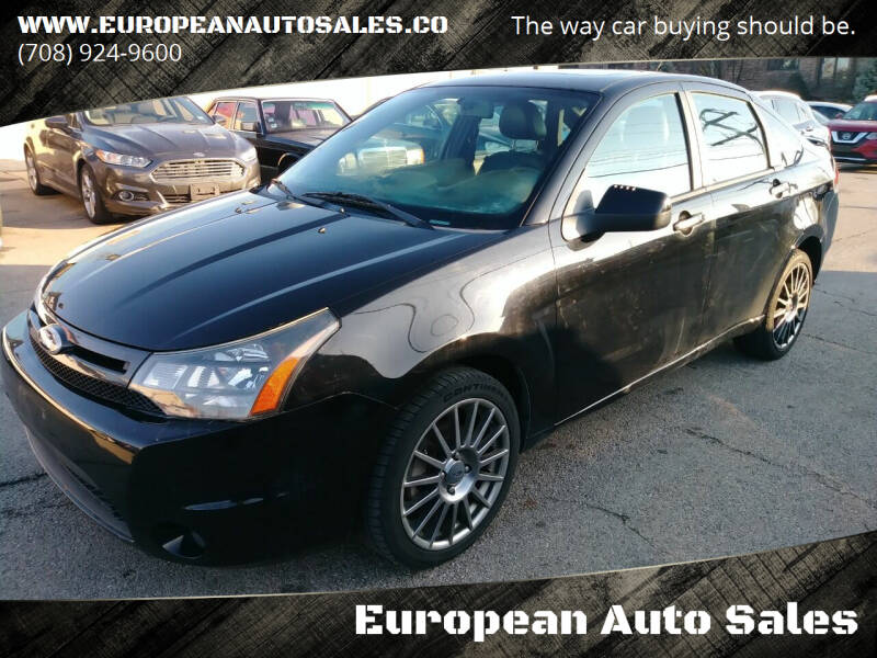 2011 Ford Focus for sale at European Auto Sales in Bridgeview IL