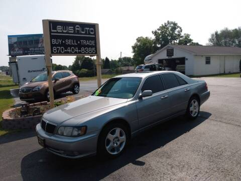 2000 Infiniti Q45 for sale at LEWIS AUTO in Mountain Home AR