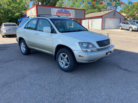1999 Lexus RX 300 for sale at FUTURES FINANCING INC. in Denver CO