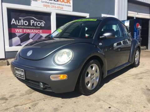 2003 Volkswagen New Beetle for sale at AutoPros - Waterloo in Waterloo IA