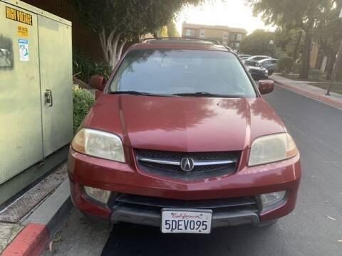 2003 Acura MDX for sale at TOP OFF MOTORS in Costa Mesa CA