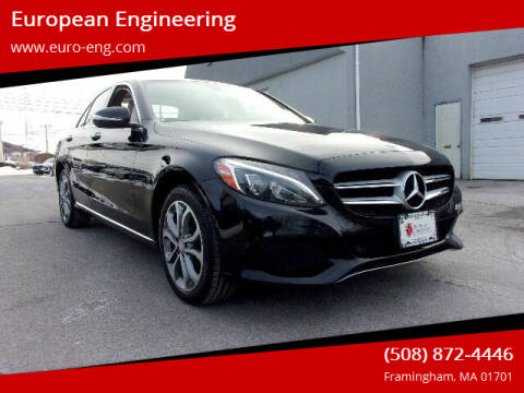 2015 Mercedes-Benz C-Class for sale at European Engineering in Framingham MA