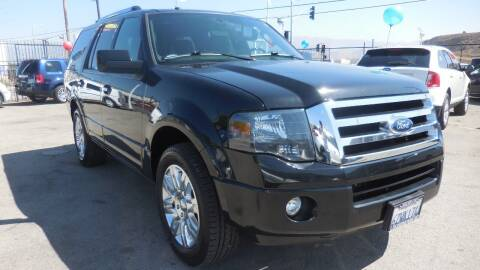 2013 Ford Expedition for sale at Luxor Motors Inc in Pacoima CA