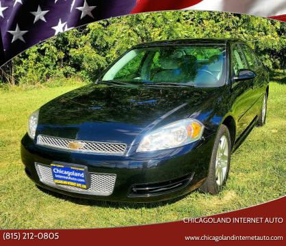 2013 Chevrolet Impala for sale at Chicagoland Internet Auto - 410 N Vine St New Lenox IL, 60451 in New Lenox IL