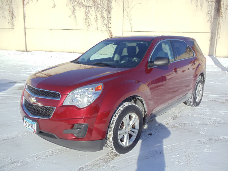 2010 Chevrolet Equinox for sale at Metro Motor Sales in Minneapolis MN