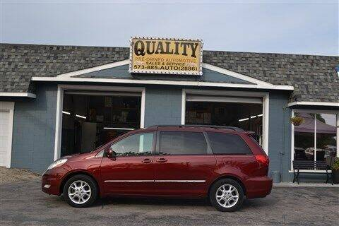 2006 Toyota Sienna for sale at Quality Pre-Owned Automotive in Cuba MO