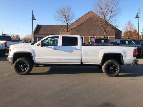 2018 GMC Sierra 3500HD for sale at ROSSTEN AUTO SALES in Grand Forks ND