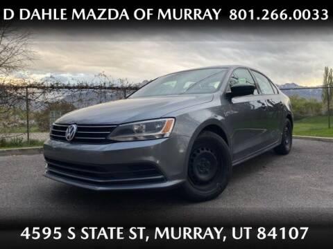 2015 Volkswagen Jetta for sale at D DAHLE MAZDA OF MURRAY in Salt Lake City UT