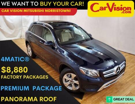 2017 Mercedes-Benz GLC for sale at Car Vision Mitsubishi Norristown in Trooper PA