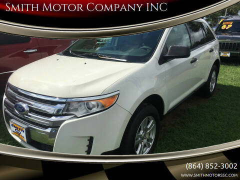 2011 Ford Edge for sale at Smith Motor Company INC in Mc Cormick SC