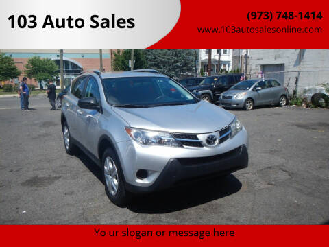 2015 Toyota RAV4 for sale at 103 Auto Sales in Bloomfield NJ