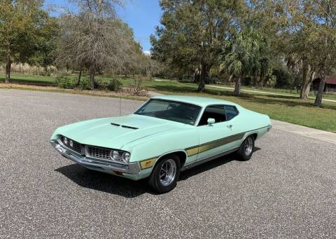 1971 Ford Torino for sale at P J'S AUTO WORLD-CLASSICS in Clearwater FL