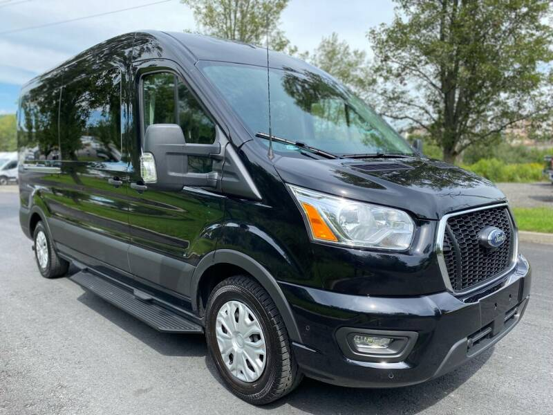 2021 Ford Transit Passenger for sale at HERSHEY'S AUTO INC. in Monroe NY