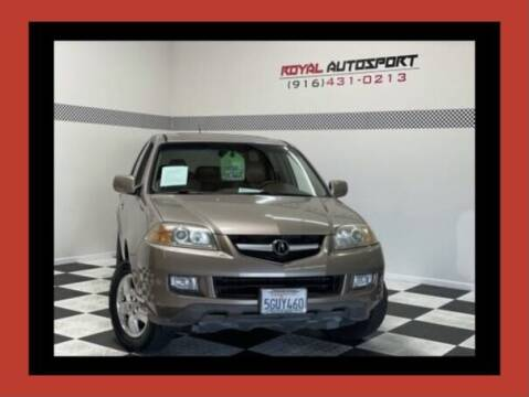 2004 Acura MDX for sale at Royal AutoSport in Sacramento CA