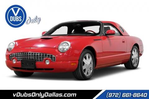 2002 Ford Thunderbird for sale at VDUBS ONLY in Dallas TX