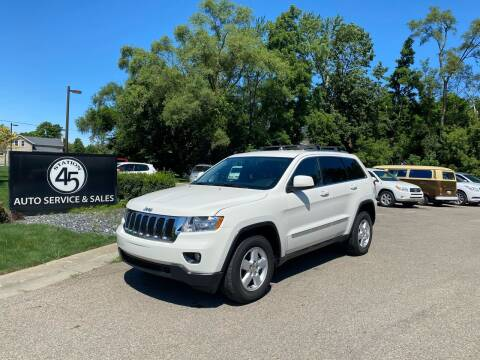 2011 Jeep Grand Cherokee for sale at Station 45 Auto Sales Inc in Allendale MI