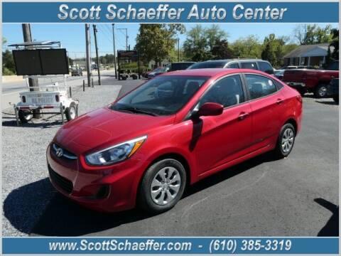 2016 Hyundai Accent for sale at Scott Schaeffer Auto Center in Birdsboro PA