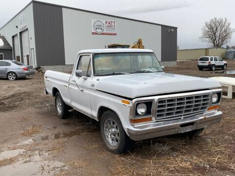 1978 Ford F-100 for sale at Fatt Larry's Customs - Classics/Projects in Sugar City ID