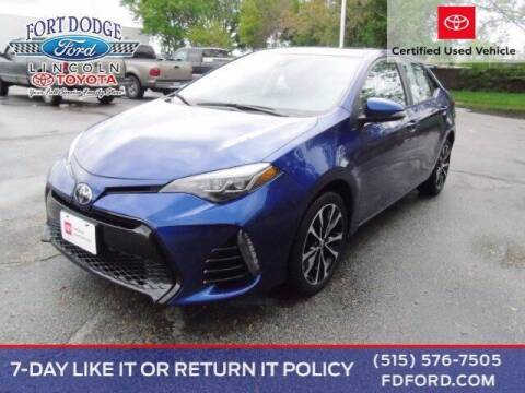 2018 Toyota Corolla for sale at Fort Dodge Ford Lincoln Toyota in Fort Dodge IA