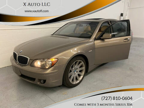 2006 BMW 7 Series for sale at X Auto LLC in Pinellas Park FL