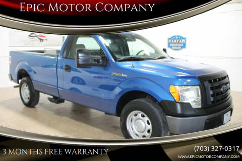 2010 Ford F-150 for sale at Epic Motor Company in Chantilly VA