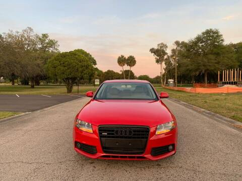 2009 Audi A4 for sale at FLORIDA MIDO MOTORS INC in Tampa FL