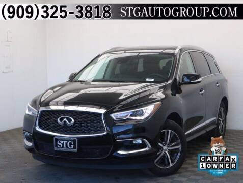 2019 Infiniti QX60 for sale at STG Auto Group in Montclair CA