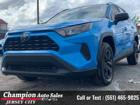 2019 Toyota RAV4 for sale at CHAMPION AUTO SALES OF JERSEY CITY in Jersey City NJ