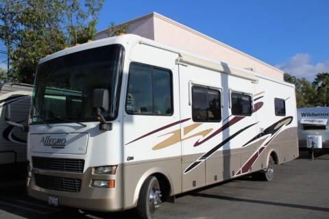 2005 Tiffin Allegro 32BA for sale at Rancho Santa Margarita RV in Rancho Santa Margarita CA