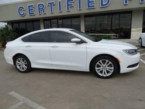 2016 Chrysler 200 for sale at Mac Haik Ford Pasadena in Pasadena TX