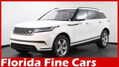 2019 Land Rover Range Rover Velar for sale at Florida Fine Cars - West Palm Beach in West Palm Beach FL