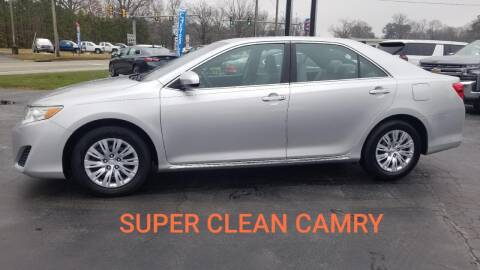 2012 Toyota Camry for sale at Whitmore Chevrolet in West Point VA